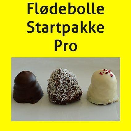 Flødebolle Startpakke Pro Bagebixendk